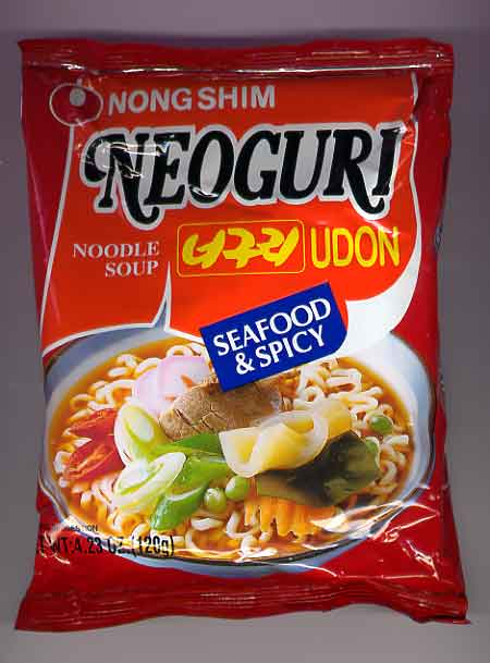 neoguri noodles seafood and spicy