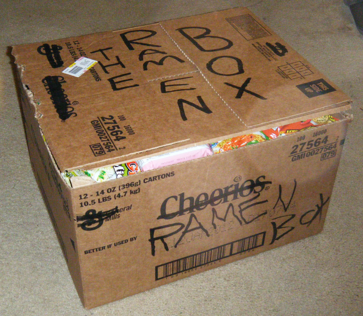 The ramen box